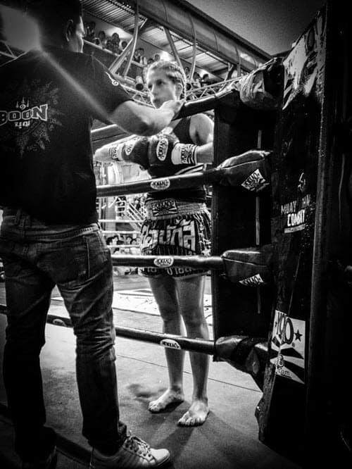 Maggie Rickman Muay Thai